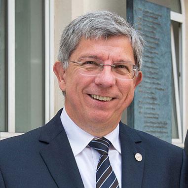 Portrait von Rektor Prof. Dr. Barbknecht (TU Freiberg)