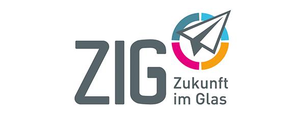 Zukunft im Glas (Logo)